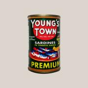 Young's Town 정어리 인 토마토소스 Young's Town Sardines in Tomato Sauce (Green) 155g
