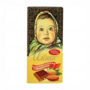 CHOCOLATE ALYONKA ALMOND 100 g