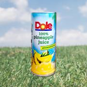돌 100% 파인애플 쥬스 Dole 100% Pineapple Juice 240ml