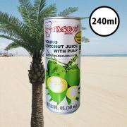 타스코 영코코넛 쥬스 240ml TASCO Young Coconut Juice 240ml