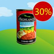 하이랜드 콘비프 Highlands Corned Beef 150g