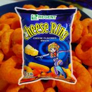 치즈링 치즈향 스낵 Cheese Ring Cheese Flavored 60g - KP1121